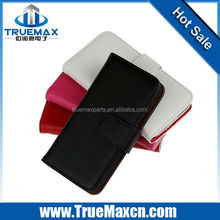 New high quality Leather case for Samsung Galaxy S5 Mini with Wallet card slots