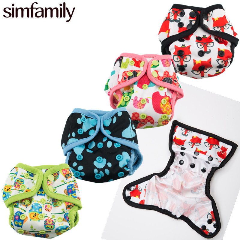 Reusable Washable Waterproof New Born Diaper Cover For 0-3 Month And 0-6 Kgs Baby