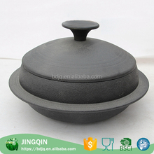 high quality ceramic casserole with standing lid Cast Iron casserole