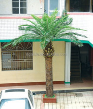 Home garden edging decorative 5ft to 16ft Height outdoor artificial green plastic palm trees EDS06 0810