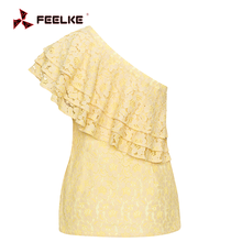 Top selling products in Alibaba 2017 lace women lady top