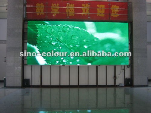 P10 outdoor led display signs of Inlaid Type
