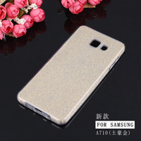 luxury design bling bling glitter back cover soft phone cover case for Samsung galaxy A7100