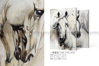 Modern animal painting/ canvas oil painting with house wall art