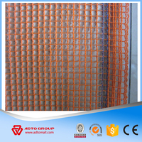 HDPE knitted soft safety net/fall arrest protection safety nylon nets