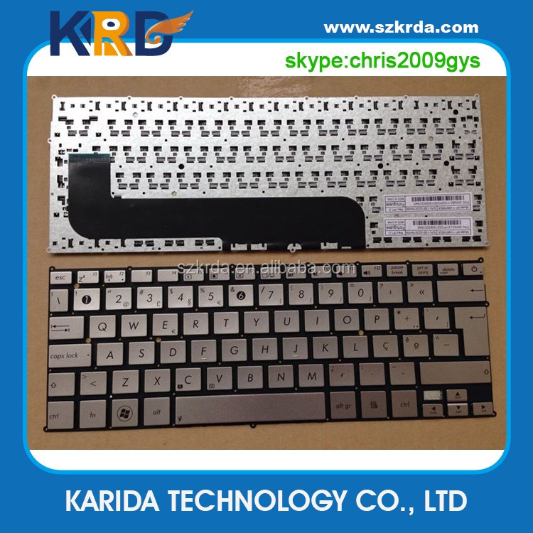 Wholesale laptop keyboard for Asus UX21 UX21A UX21E Portuguese keyboard