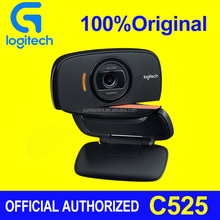 100% original Logitech Webcam C525 wholesale camera laptop usb free driver download software Logitech C270/C525/C310 hd Webcam