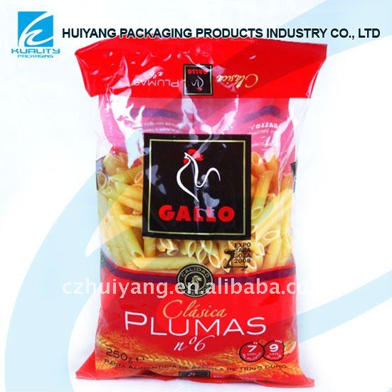 composite materials packaging resealable food bags
