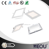 square 3w 4w 5w 6w 15w 20w 24w 25w 18w 7w 8w 9w 10w 12w led light panel