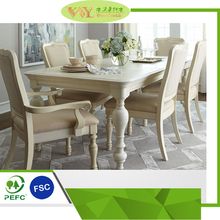 High Quality Coffee Table Set Restaurant Table and Chairs Wood Dining Furniture