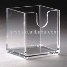 QCY-H-C003 factory directly sale high quality transparent tea bag box