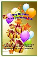 Happy Birthday Video Greetings DVD