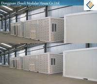 Prefab house shipping container price europe supplier with SGS Certificate