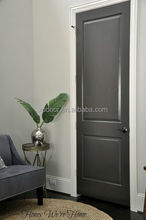 High Wearing feature Scratch proofing pvc Laminated Internal wooden Doors