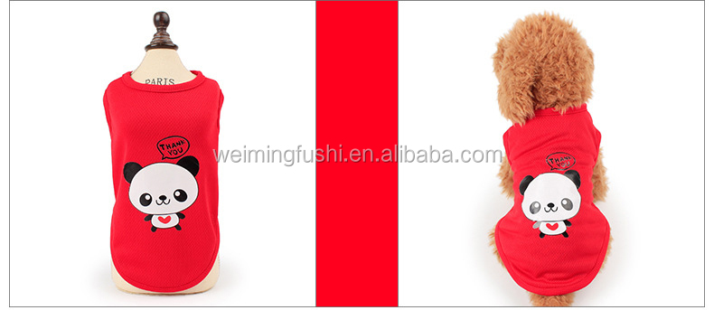 Cute Pet Dog Clothes For Small Dogs Lovely Animal Design Summer Puppy Dog Cat Clothing