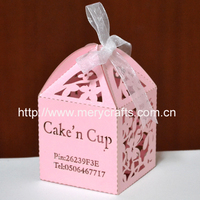 peasonalised candy chocolate cup cake boxes with logo