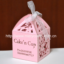 Peasonalised cup cake chocolate candy cajas con el logo