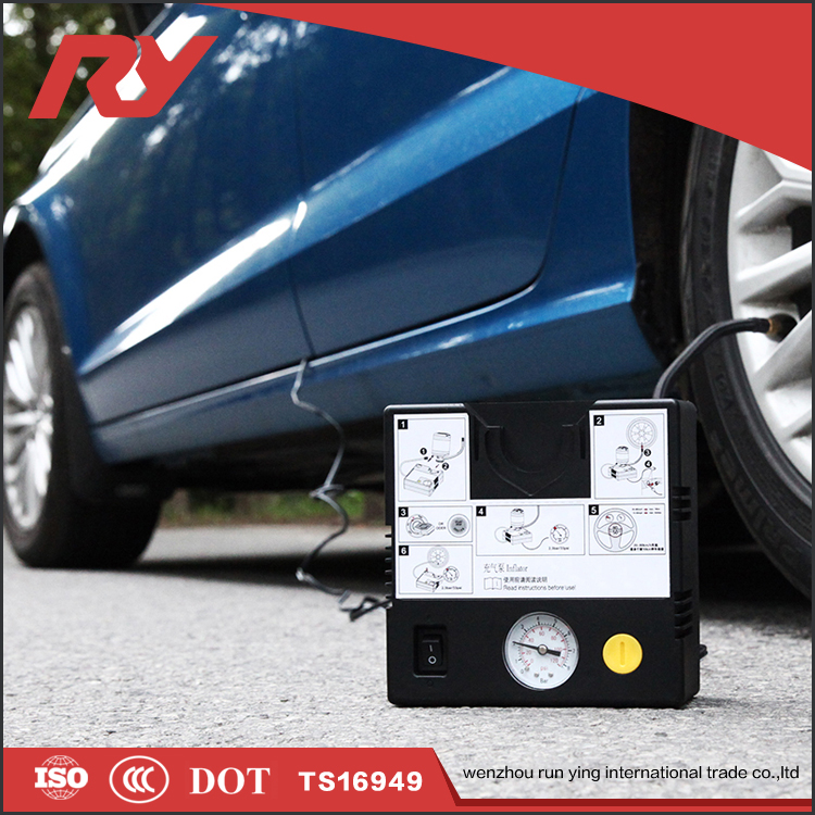 RUNYING The Most Popular Products Automotive Electrical Car Tyre Inflating Tools Kit