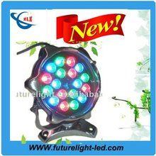 2012 hot sell 18w led underwater fishing light