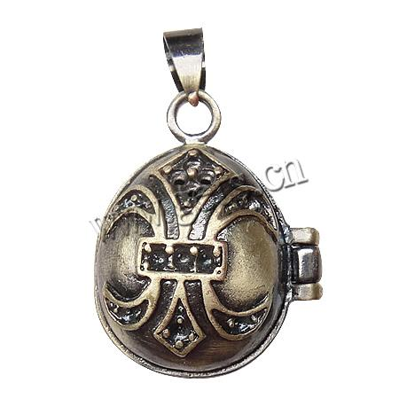 brass love locket jewelry