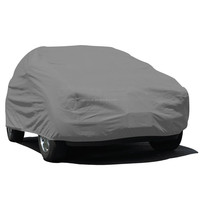 100% Waterproof Heated Peva And PP Cotton Folding Garage Car Cover