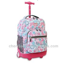 kids trolley with wheels school bag