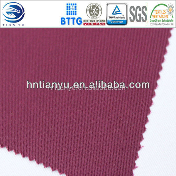 OEM cheap and high quality twill fabric most popular cvc workwear fabric