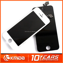 PayPal accepted Brand new lcd complete for apple iphone 5 lcd ,mobile phone lcd for iphone 5
