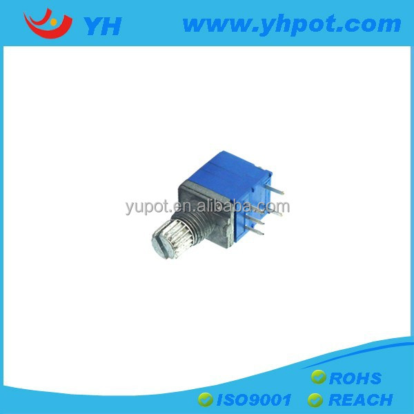 YH factory high quality mono single unit volume control rotary stock potentiometers