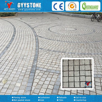 fan shape natural paving stones for outdoor