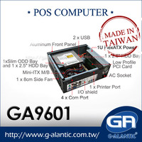 GA9601 - High Performance Mini-ITX Case with standard PCI slot for POS system