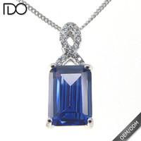 Customize top quality tanzanite color arabic fashion jewellery designs