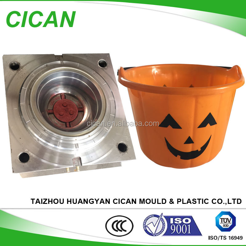 Huangyan household mold kids toy halloween pumpkin bowl plastic injection molding