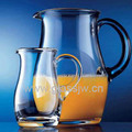 Glass Juice Jug With Handle