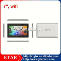 china no brand single core allwinner a13 arm cortex-a8 tablet pc