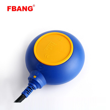 Electrical water level control ball float switch