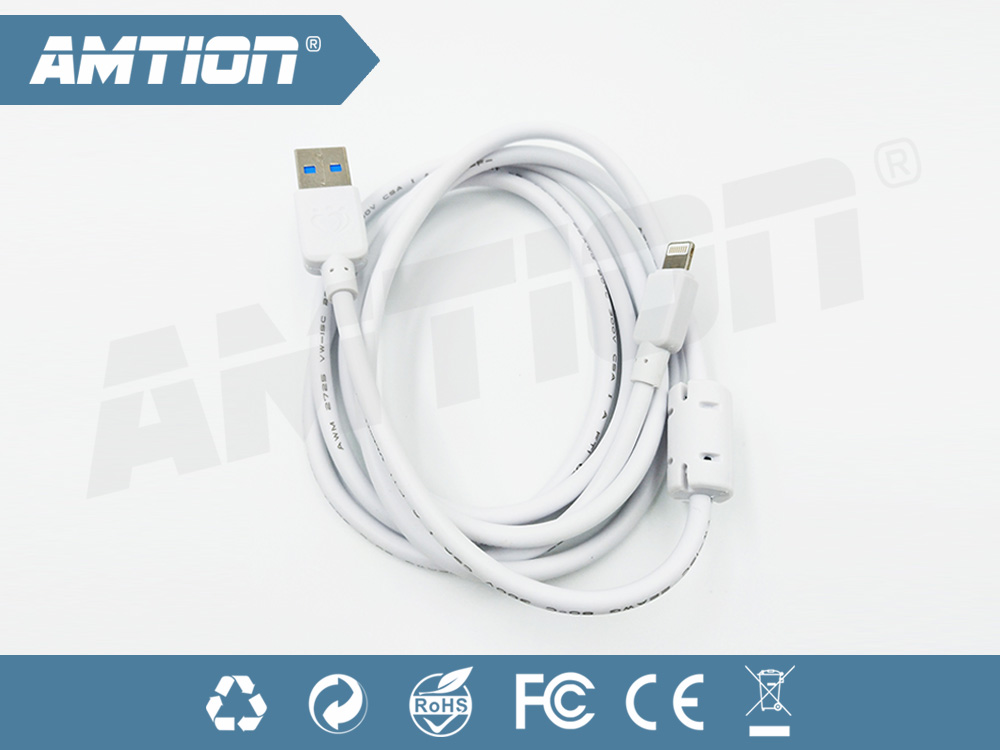 3.0 usb charger cable fast 2.0A and 5Gbps speed transfer for iPhone