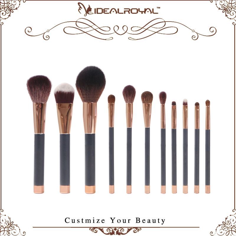 11pcs Best wholesale makeup brushes with high quality material