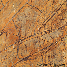 80x80cm, 32x32'', 60x60cm, 24x24'' Full Body Fake Marble Full Polished Tile for Luxury Flooring Indian Forest
