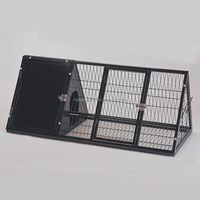 Commercial new metal Rabbit Cage Breeding With Plastic Tray For Sale