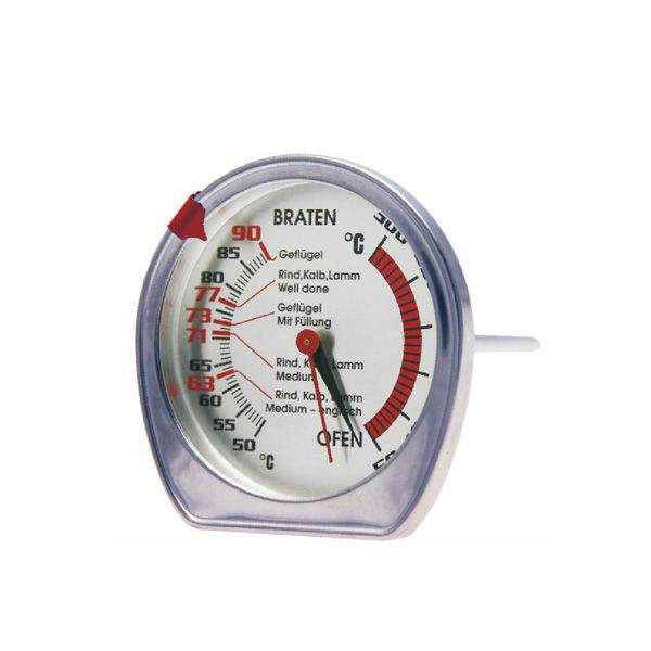 Food Meat High Heat Large Dial Stainless Steel Oven Thermometer