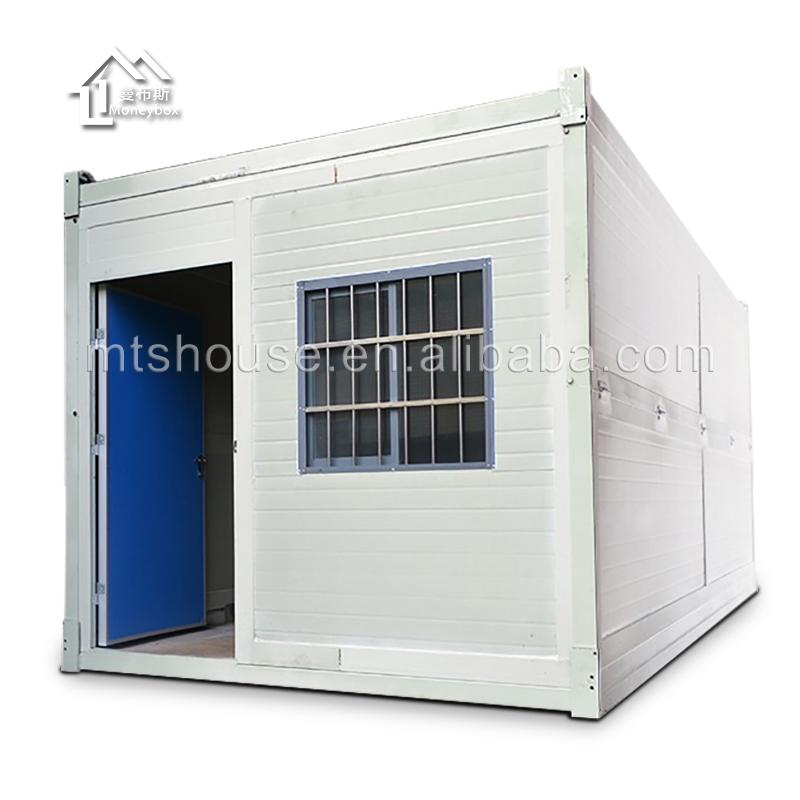 20ft casa de contenedor plegable contenedor casa de contenedor de paquete plano pouse precio en - Casa contenedor precio ...