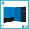 Factory wholesale Printing custom file folder with CMYK printing