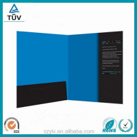 Factory Wholesale Printing Custom File Folder