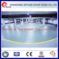 epoxy hardener DJ650 with good chemical resistance for flooring & bonding
