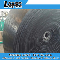 Standard EP canvas rubber belting for Material Handling