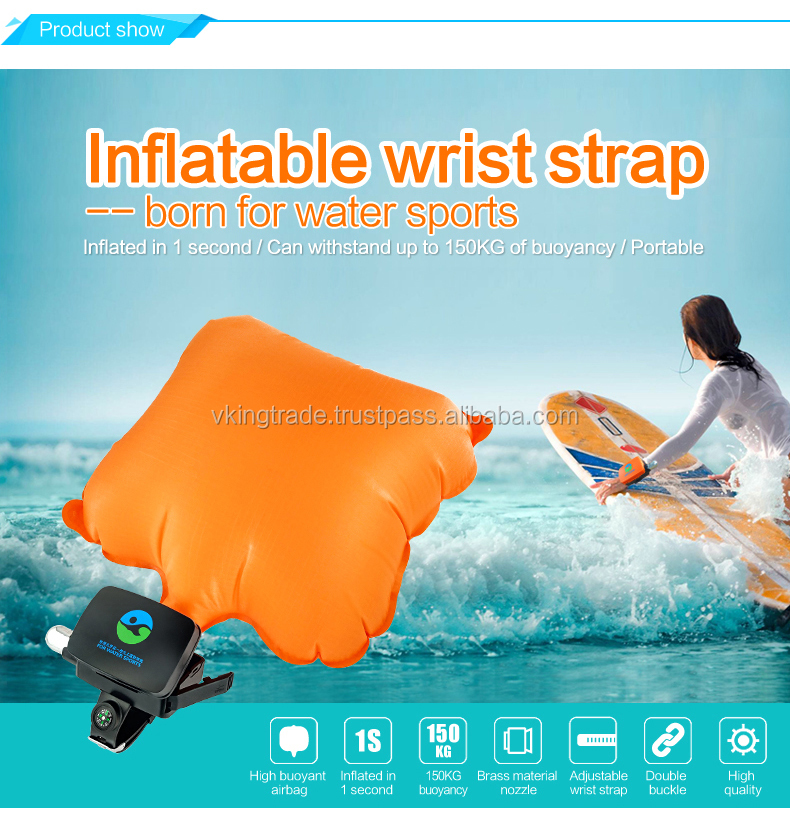 VKING Water Sports Emergency Self Rescue Lifesaving Device High Quality Anti-drowning Bracelet Prevent Drowning Wrist Band