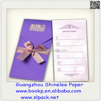 factory wholesale hand made dinner / meeting invitation card