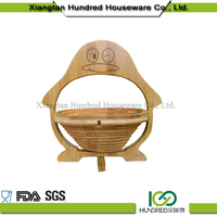 wedding gift fruit baskets decoration made by bamboo cutting boards