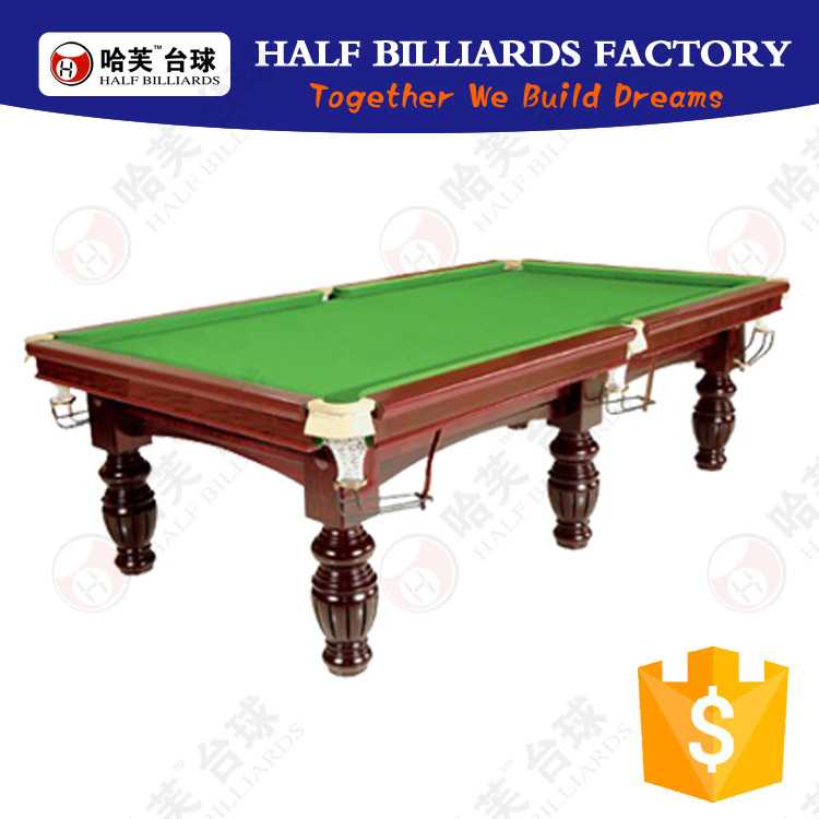 User-friendly design diamond pool table with best price
